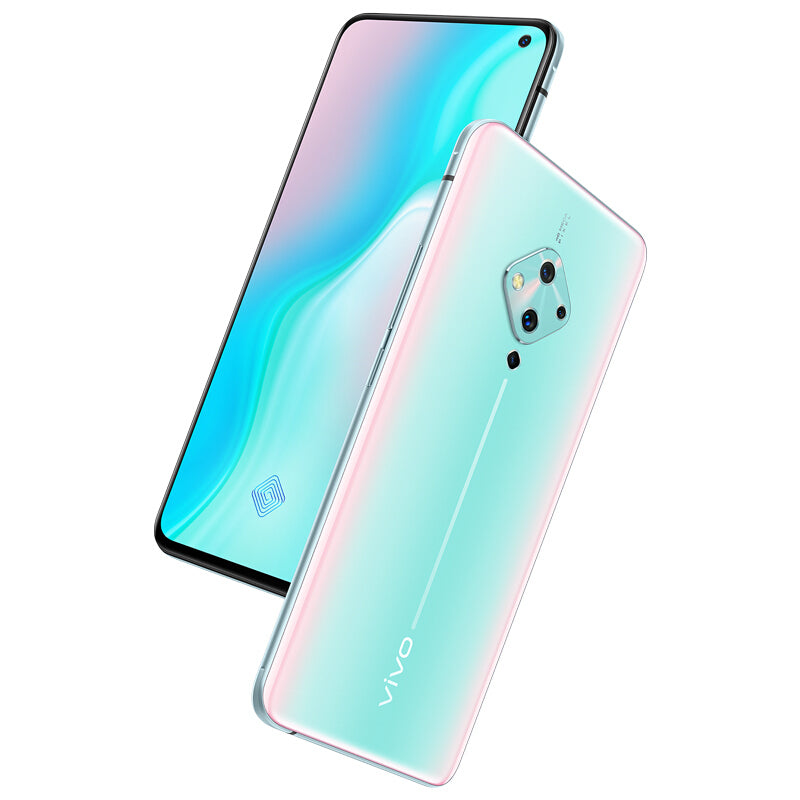 vivo S5 CN Version 6.44 inch FHD+ 4100mAh Android 9.0 32MP Front Camera 8GB 256GB Snapdragon 712 4G Smartphone