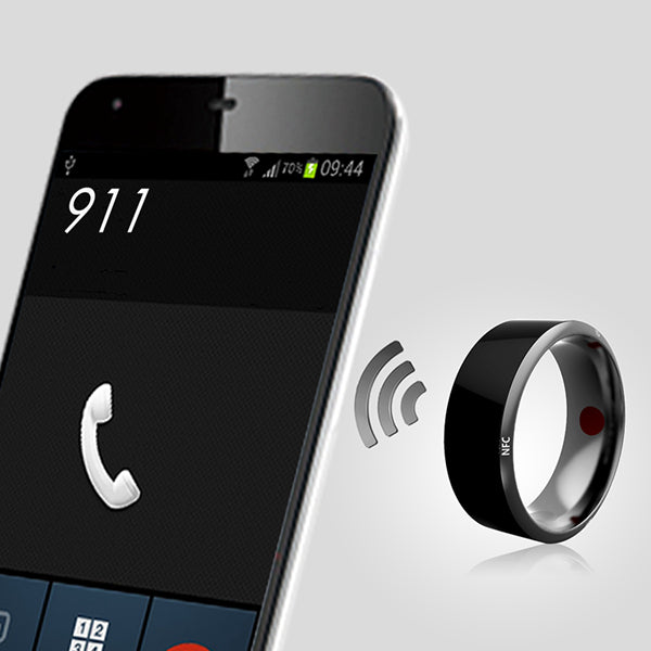 Bakeey Multifunctional Magic Smart NFC Tag Finger Ring For Android IOS