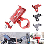Load image into Gallery viewer, ZTTO Z-81 Universal Outdoor Vlog Recording Aluminum Alloy MTB Motorcycle Road Bike Bicycle Handlebar GPS Mobile Phone Holder Stand for Devices between 55-100mm Width