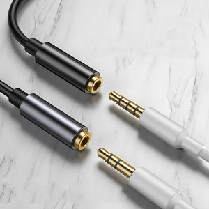 Baseus Type C to 3.5mm Jack Headphone Audio Aux Adapter Cable For Huawei P30 Mate 20Pro Xiaomi Mi8 Mi9 Oneplus 7 S10 S10+