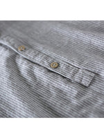 Load image into Gallery viewer, Mens 100% Cotton Button Striped Half Sleeve Breathable Casual Henley Shirts