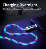 Load image into Gallery viewer, 🔥 KEYSION™ Glowing LED Magnetic 3 in 1 USB Charging Cable