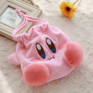 Kirby Star Plush Purse
