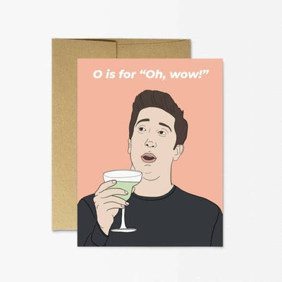 ROSS OH WOW CARD