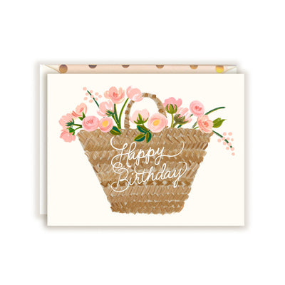HAPPY BIRTHDAY TOTE CARD