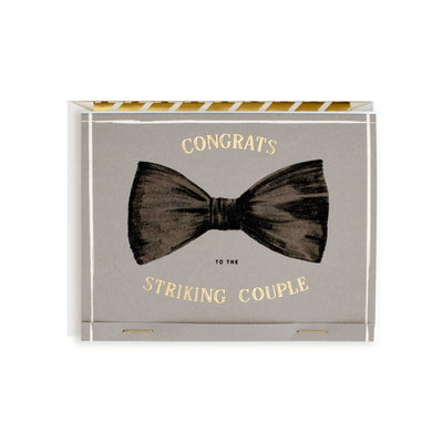 CONGRATS TO THE STRIKING COUPLE CARD