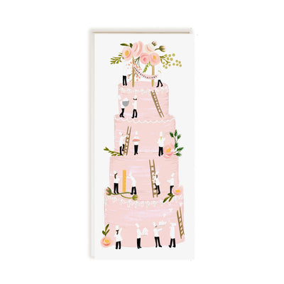TALL CAKE CONGRATS CARD