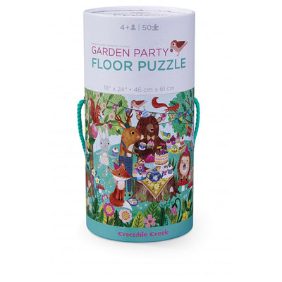 Garden Party Canister Puzzle