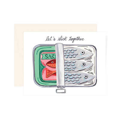 SARDINES TOGETHER CARD