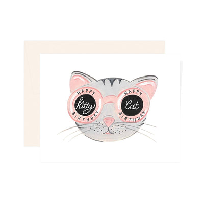 KITTY CAT BIRTHDAY CARD