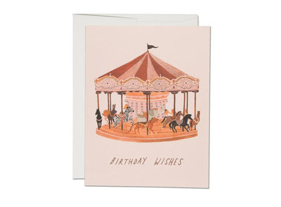 CAROUSEL WISHES CARD