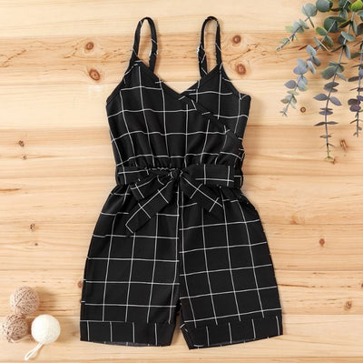 DIANE PLAID ROMPER