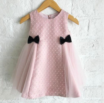 JACKIE SWISS DOT DRESS