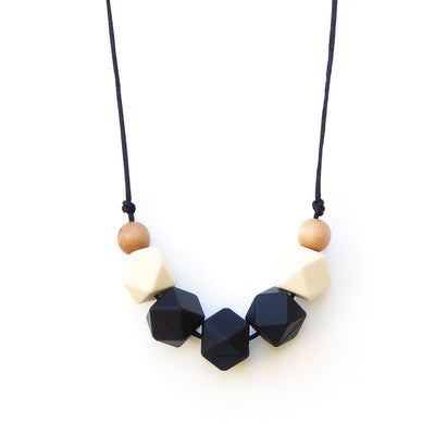 LOLLIA WOOD + SILICONE TEETHING NECKLACE