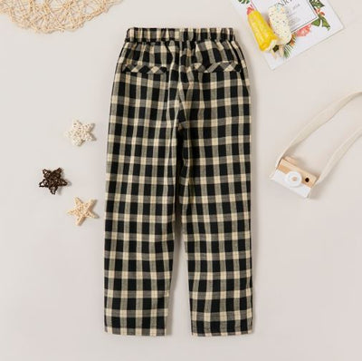 MAX PLAID PANTS