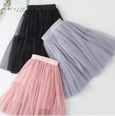 MISTY RUFFLED TULLE SKIRT