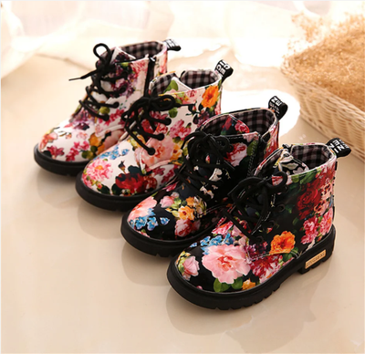 MAYIM FLORAL BOOTS