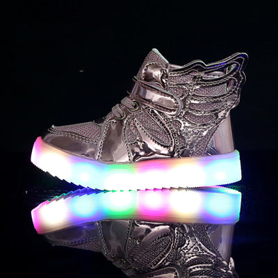 THOR GOLD LED WING DESIGN SNEAKERS