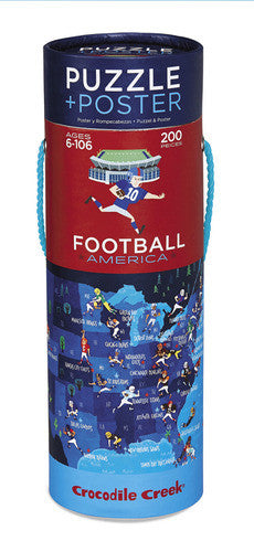 Football America Poster Puzzle