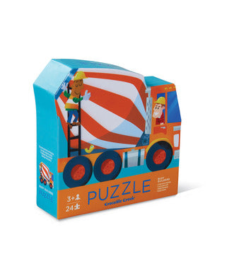 BUSY BUILDERS TWO-SIDED PUZZLE