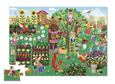 36 PIECE GARDEN PARTY SHAPED PUZZLE