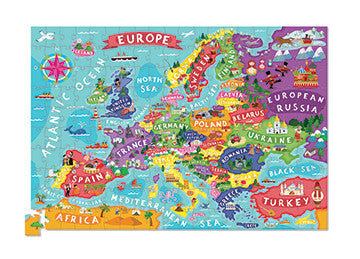 Europe Poster Puzzle