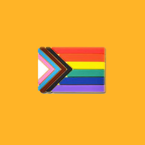 Progress Pride Flag Donation Pin