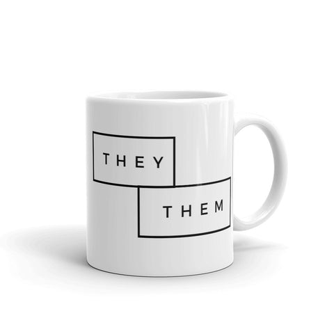 THEY / THEM Pronoun Mug Classic