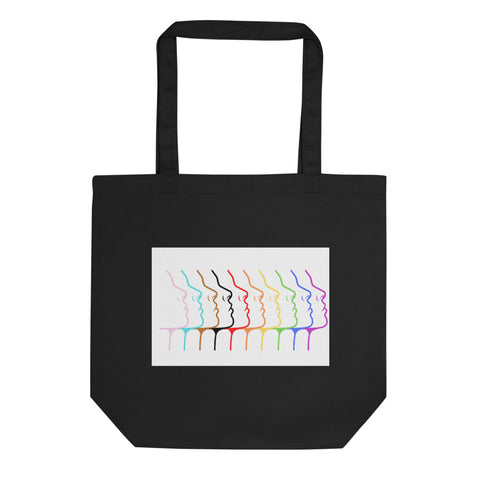 Pride Faces Eco Tote Bag