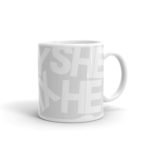 Perfect Pronouns DONATION Mug