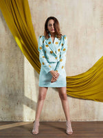 Pleasing Puff Blazer Set - Nuaah | An Indian Bazaar - Blazer Set