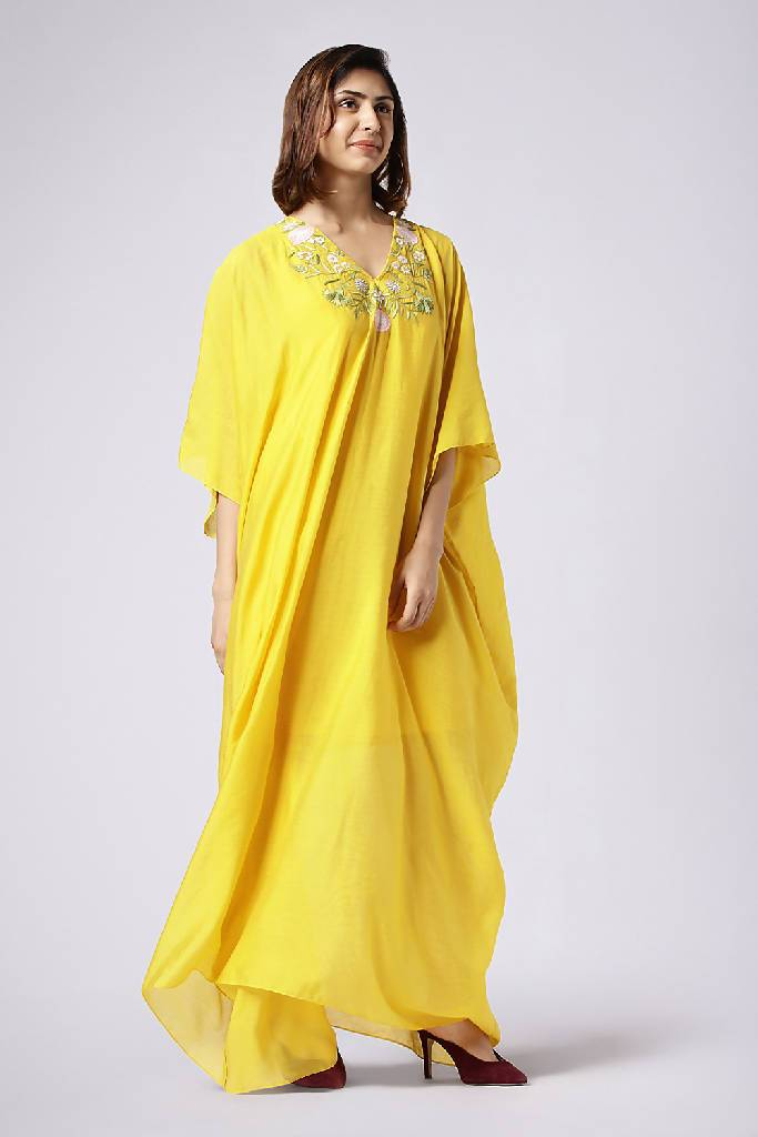 Bubbly Shine Kaftan - Nuaah | An Indian Bazaar - Kaftan Dress