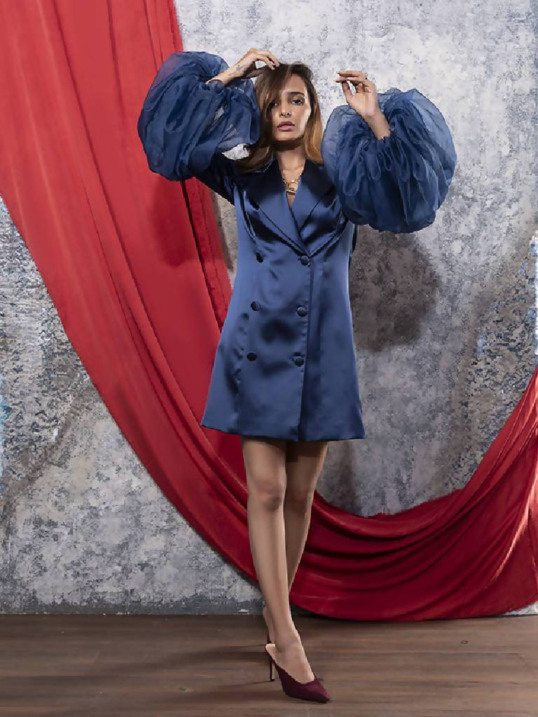Starry Blazer Dress - Nuaah | An Indian Bazaar - Dress