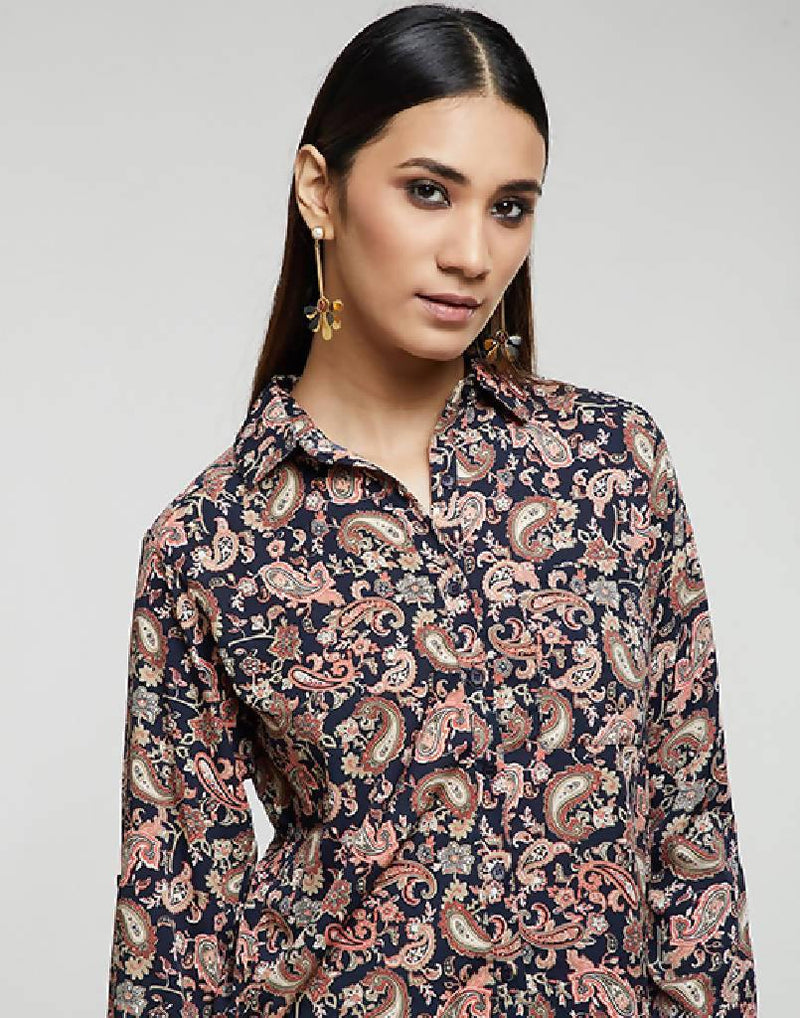 Mini Paisley Shirt - Nuaah | An Indian Bazaar - SHIRT