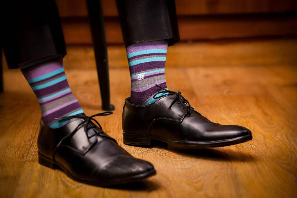 Blueberry Edition - Nuaah | An Indian Bazaar - Luxury Men Socks