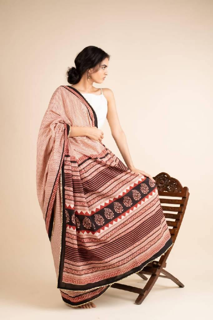 Melodies Of Spring - Nuaah | An Indian Bazaar - COTTON SAREES