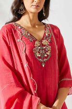 Red Jardin Suit - Nuaah | An Indian Bazaar - Suit