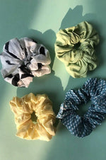 Large Scrunchies ( Pack of 4 ) - Nuaah | An Indian Bazaar - Accessories