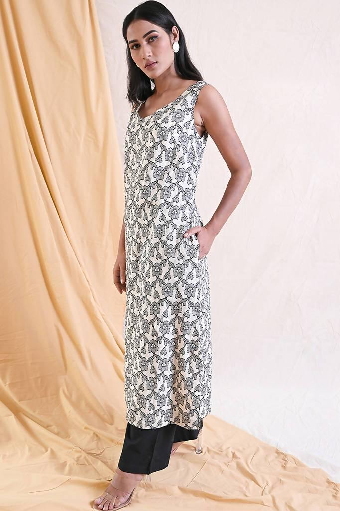 A-Line Midi Dress - Nuaah | An Indian Bazaar - Dress