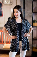 Kaftan Floral Cardigan - Nuaah | An Indian Bazaar - Clothing