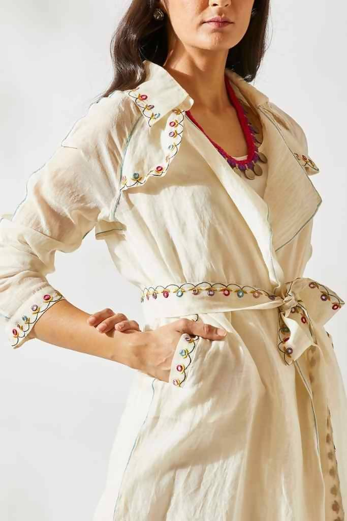 Banjara Trench Dress - Nuaah | An Indian Bazaar - Dress