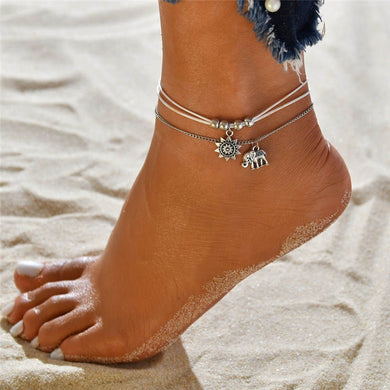Jaguar Mist Beach Jewelry Anklets - Style 8