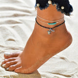 Jaguar Mist Beach Jewelry Anklets - Style 5