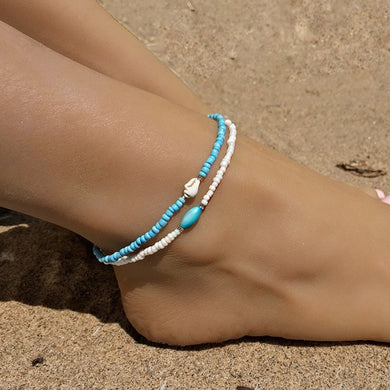 Jaguar Mist Beach Jewelry Anklets - Style 4
