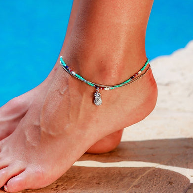 Jaguar Mist Beach Jewelry Anklets - Style 3