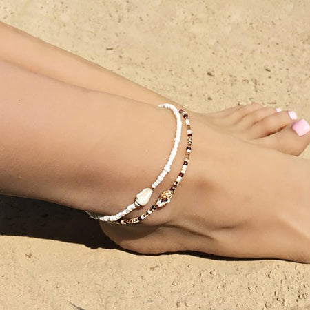 Jaguar Mist Beach Jewelry Anklets - Style 2