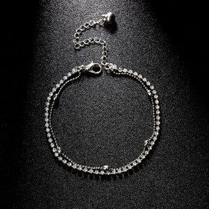 Crystal Beach Foot Anklet Jewelry Gift - Style 2