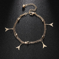 Crystal Beach Foot Anklet Jewelry Gift - Style 1