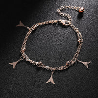Crystal Beach Foot Anklet Jewelry Gift - Style 5