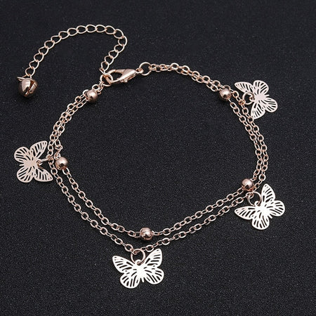 Crystal Beach Foot Anklet Jewelry Gift - Style 6